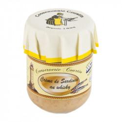 Verrine de crème de sardines au whisky