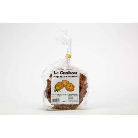 Sachet de Crakou caramel 200 G