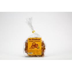 Sachet Crakou orange amandes 200G