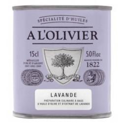 Huile d'olive à la lavande 15cl