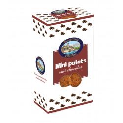 Mini palets chocolat - boîte 200G