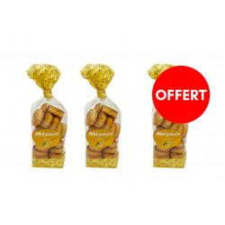 2 sachets mini palets citron achetés, le 3ème OFFERT